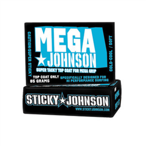 Sticky Johnson Mega Surf Wax - Cool/Cold